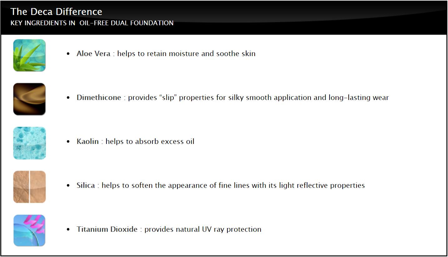 Key Ingredients dual foundation